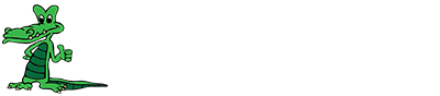"Grandview logo with ""Home of the Gators"""