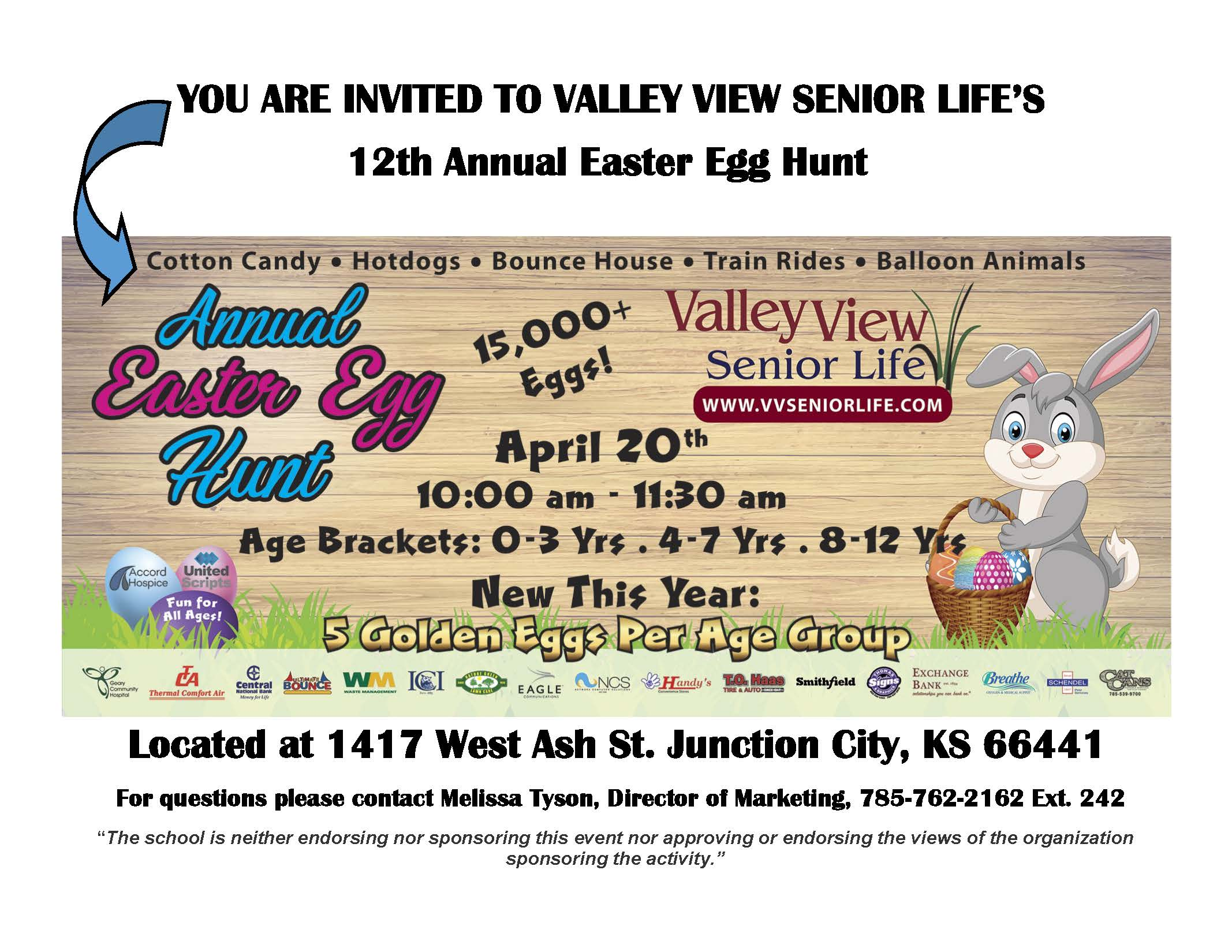 Valley View Easter Egg Hunt